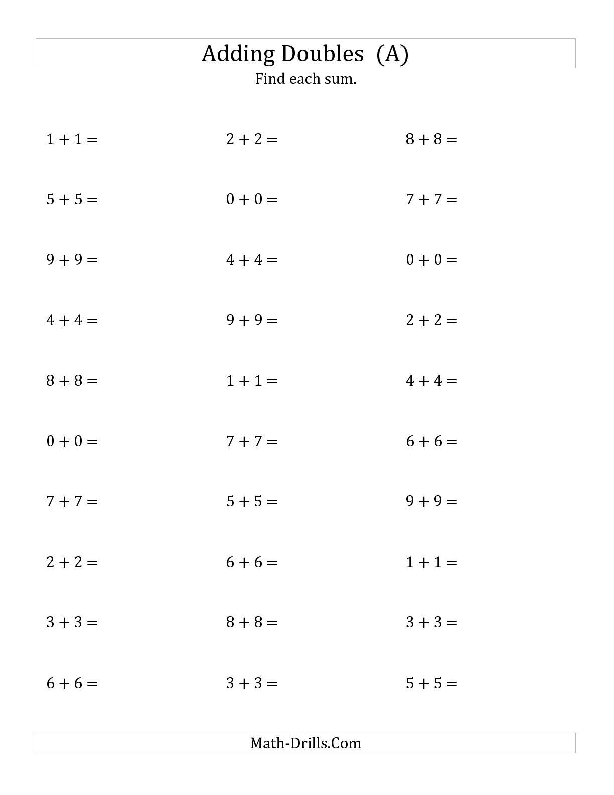 Adding Integers Worksheet Pdf