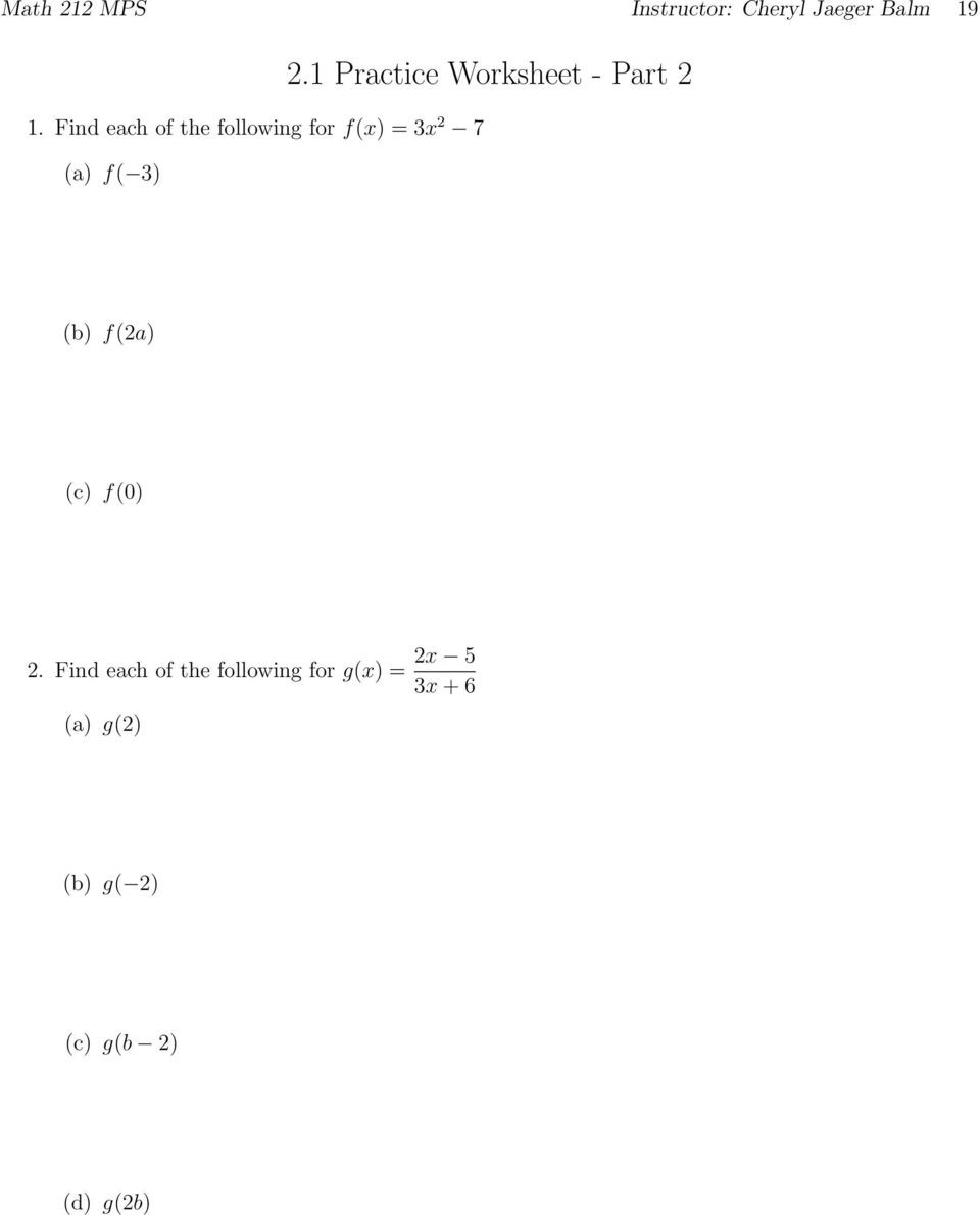 Algebra 1 Factoring Worksheet