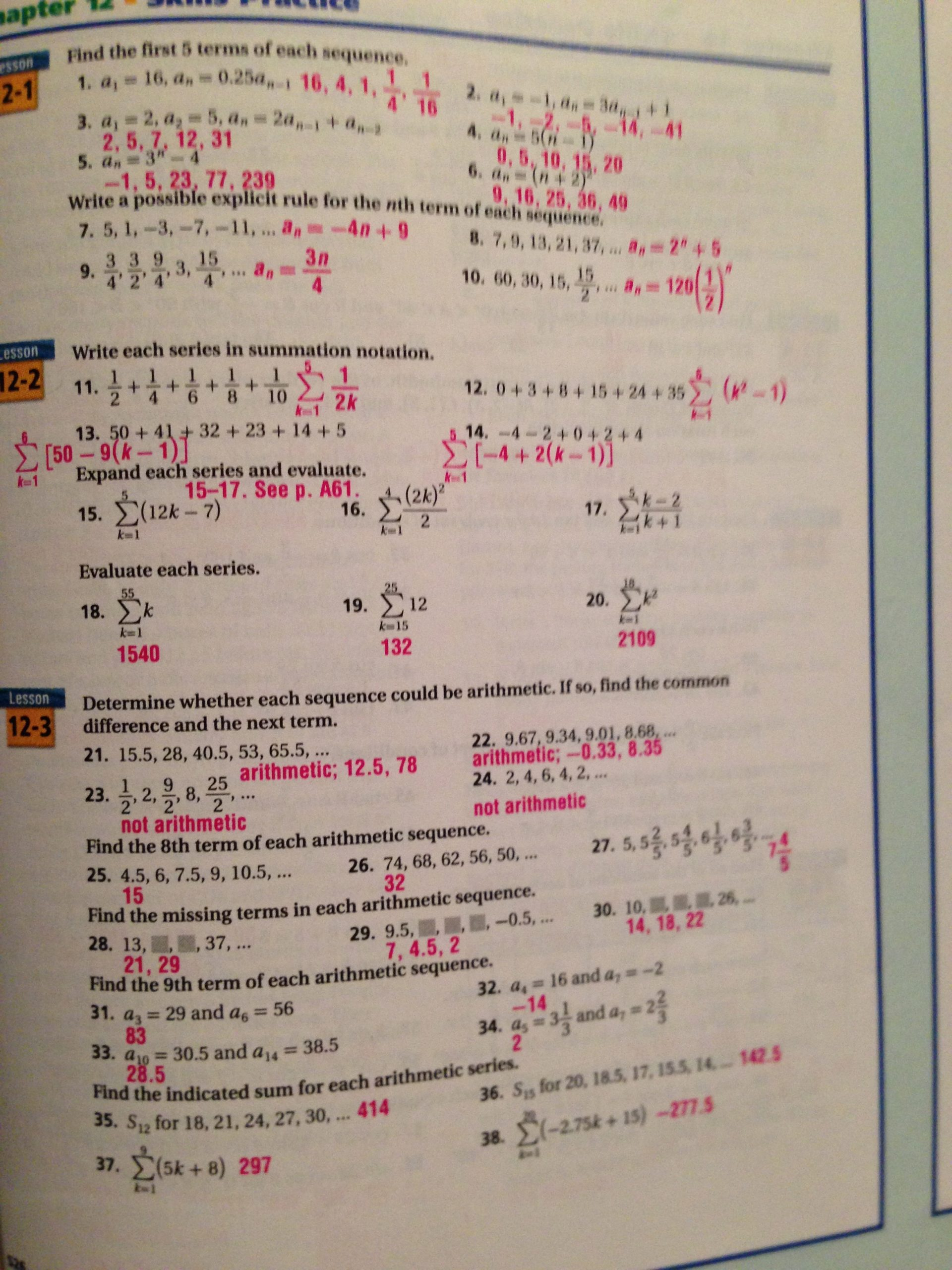 Algebra 2 Probability Worksheet