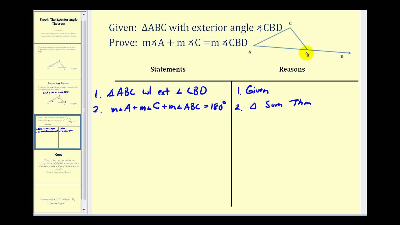 Angle Bisector theorem Worksheet