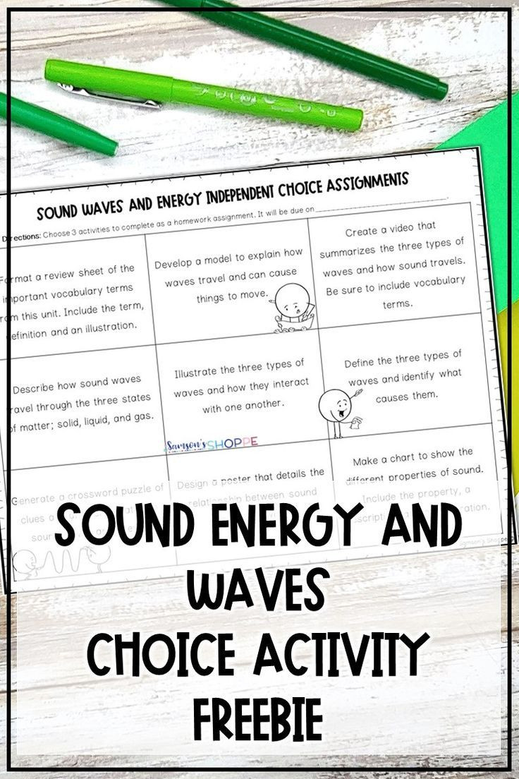 Bill Nye Waves Worksheet