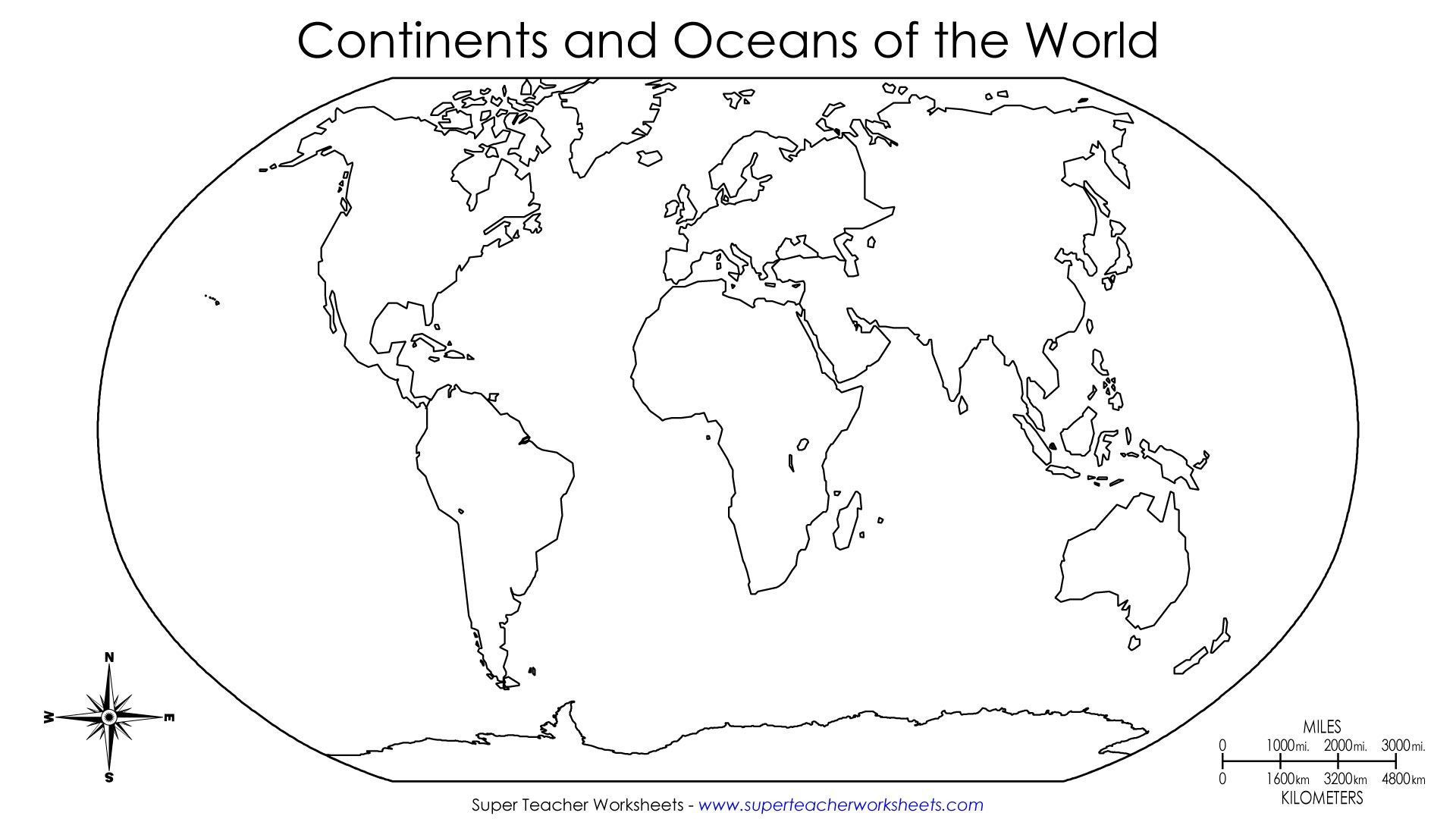 World Map Continents Pdf Map Drawing For Kids Outline Map