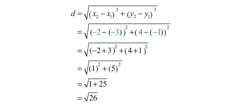 Distance formula Word Problems Worksheet
