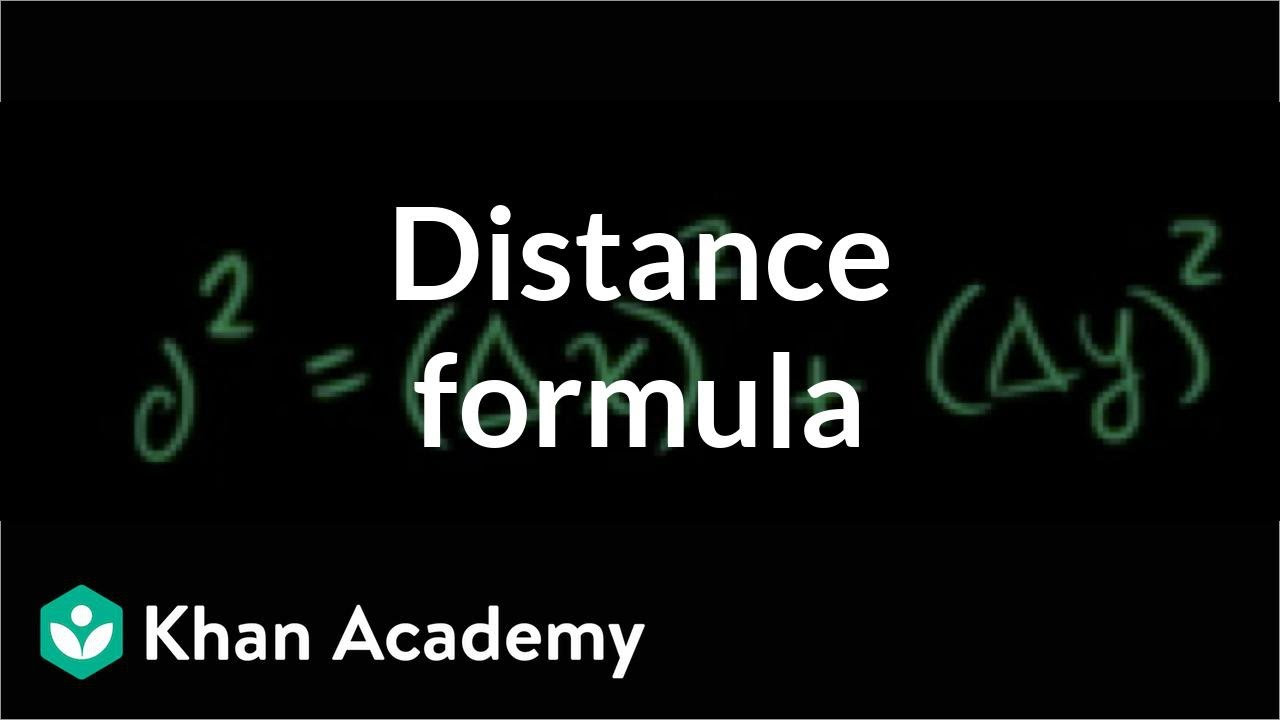 Distance formula Worksheet with Answers