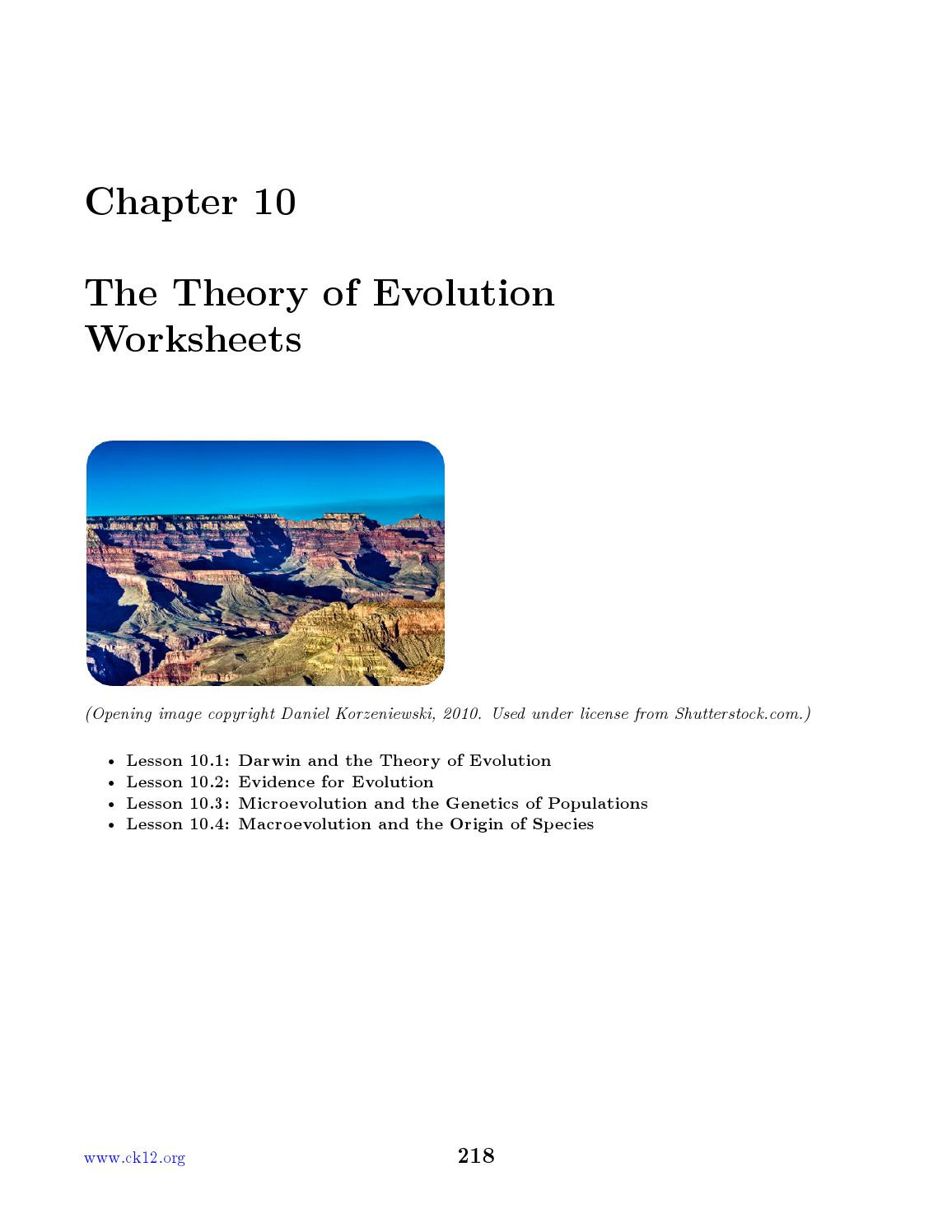 30 Evidence for Evolution Worksheet Answers | Education ...