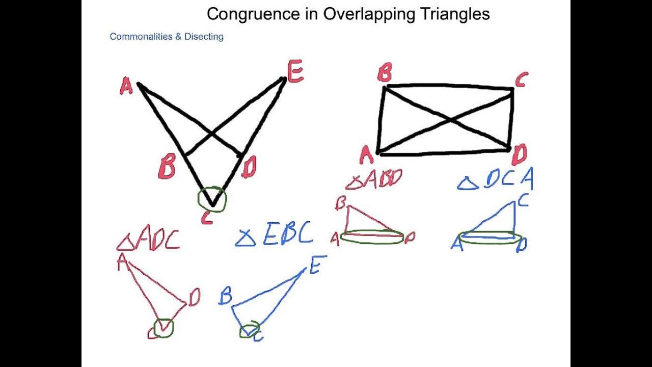 Geometry Worksheet Congruent Triangles