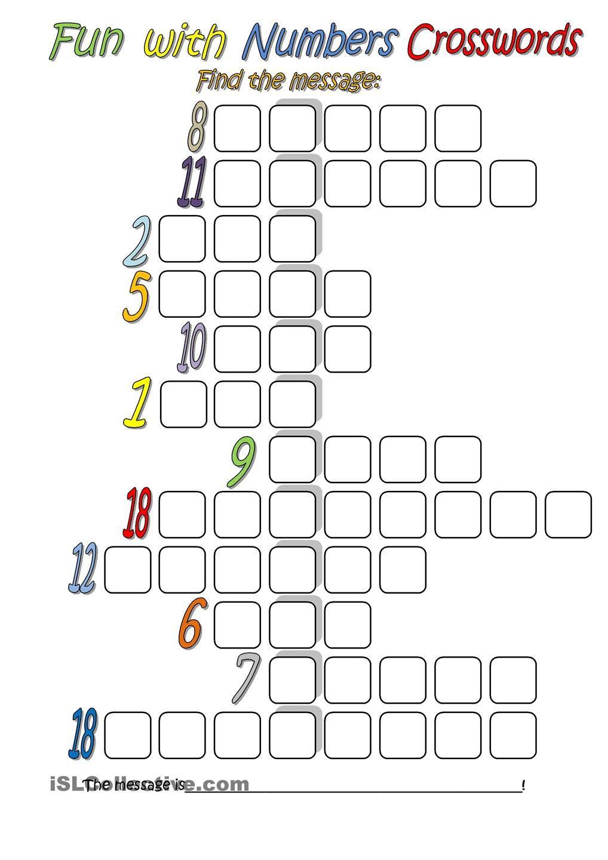 Get the Message Math Worksheet