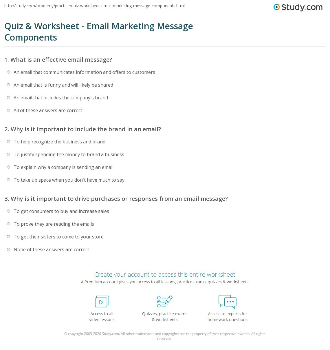 Get the Message Worksheet Answers