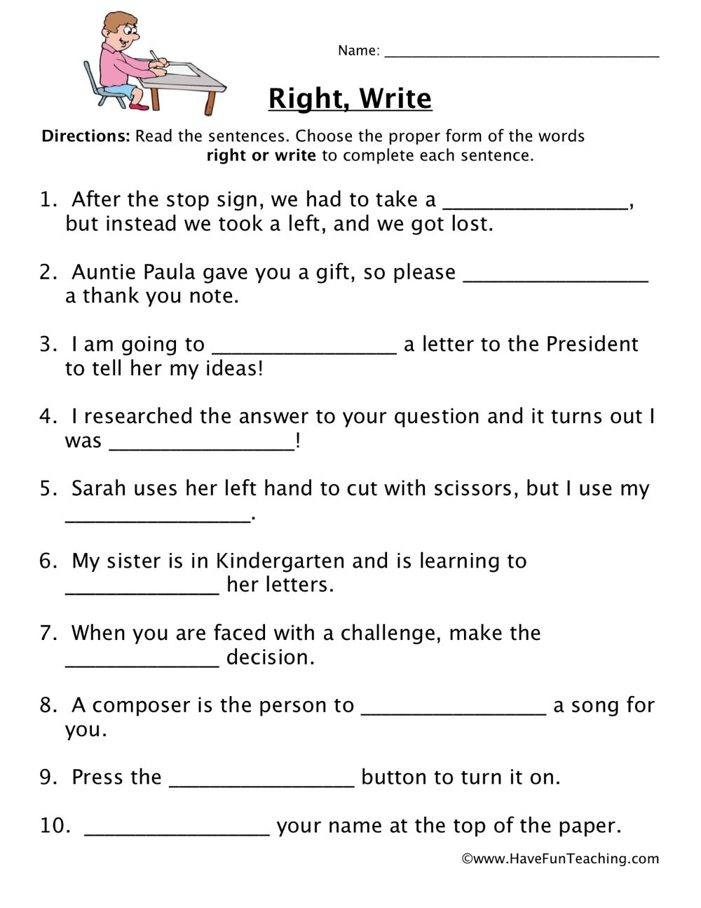 I Have Rights Worksheet Answers