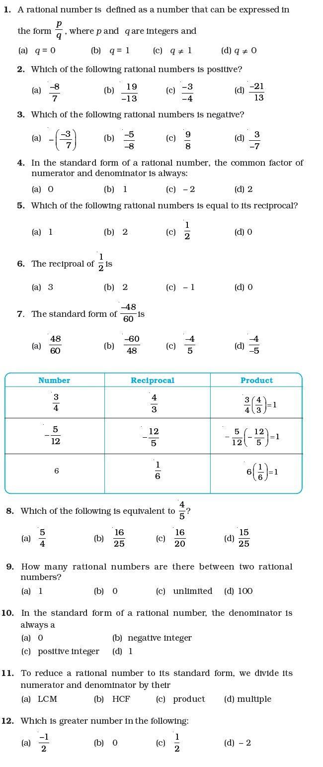 Integer Word Problems Worksheet