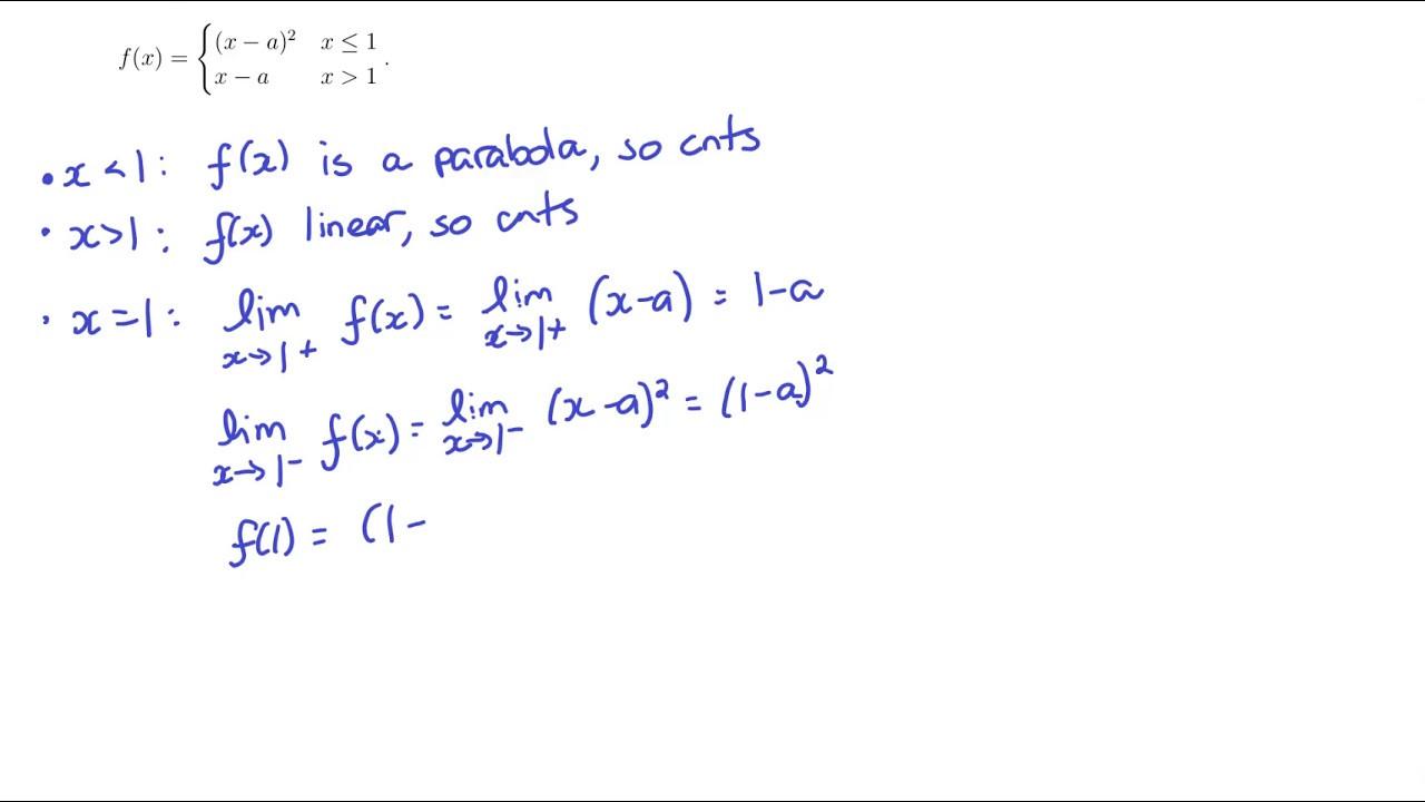 Intermediate Value theorem Worksheet