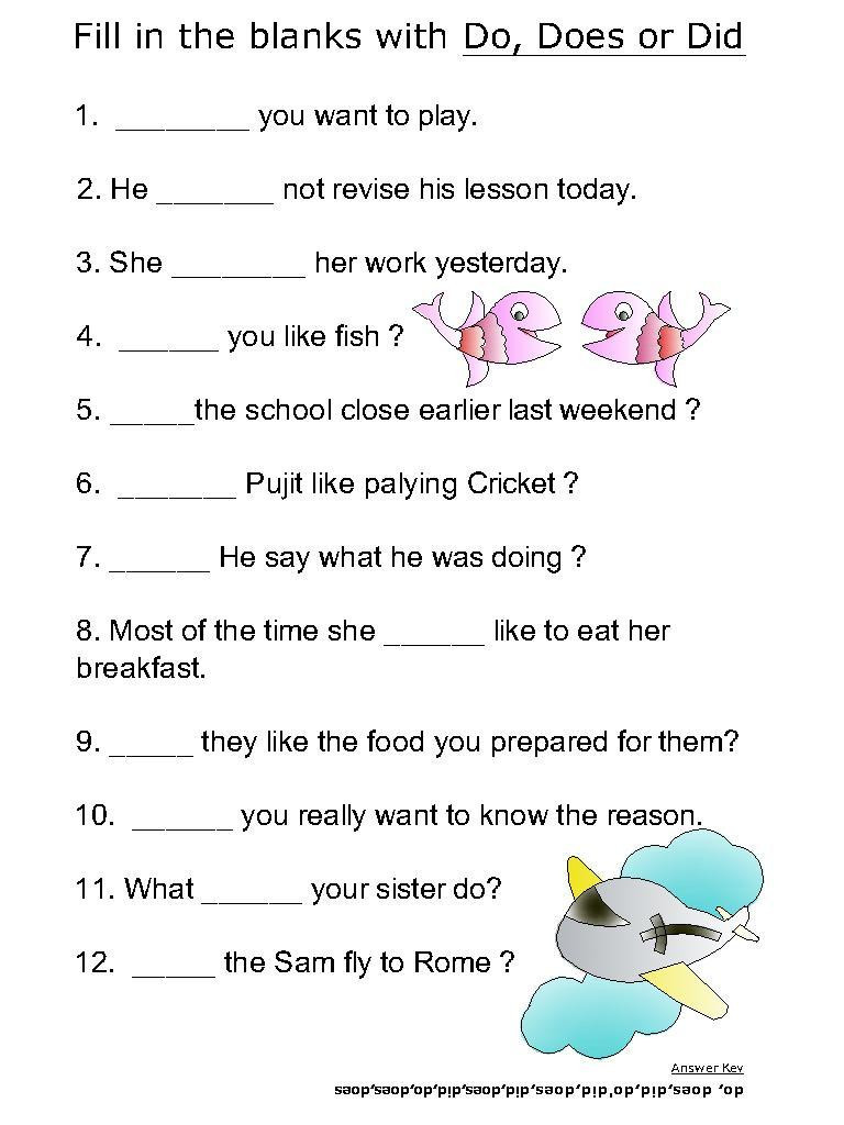 Linking and Helping Verbs Worksheet