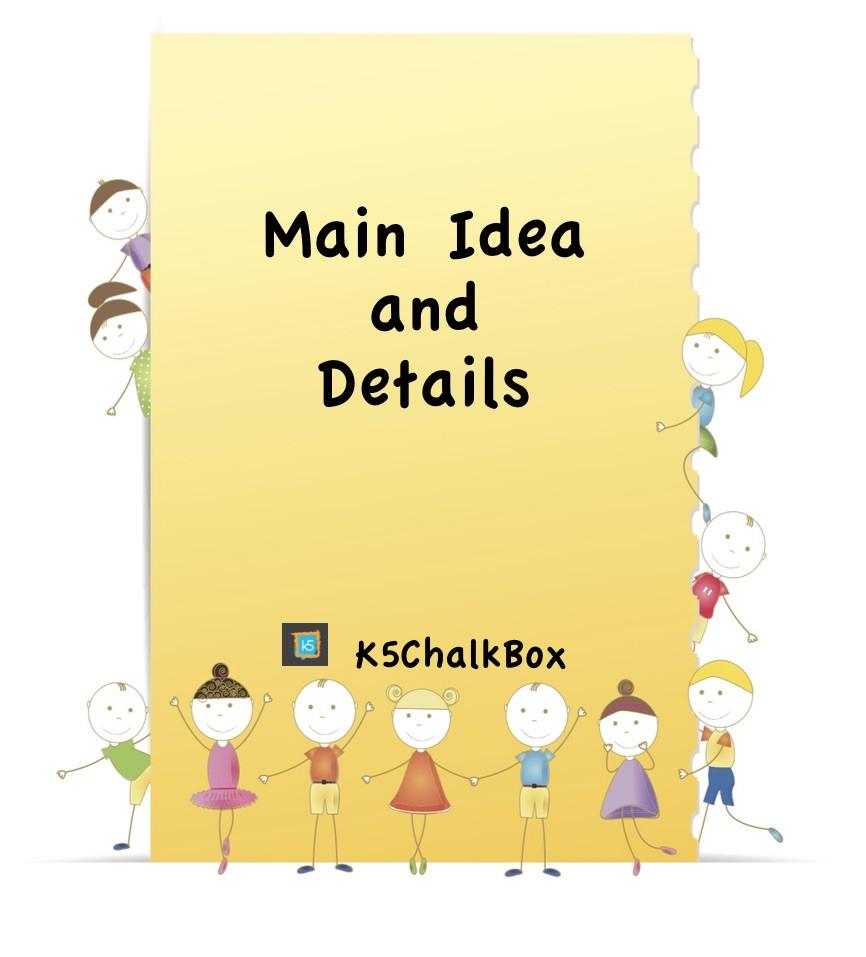 Main Idea Worksheet 2nd Grade