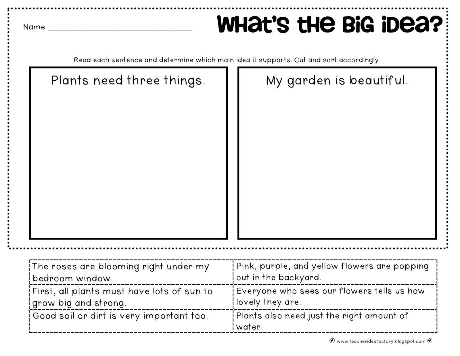 30 Main Idea Worksheet 2nd Grade | Education Template