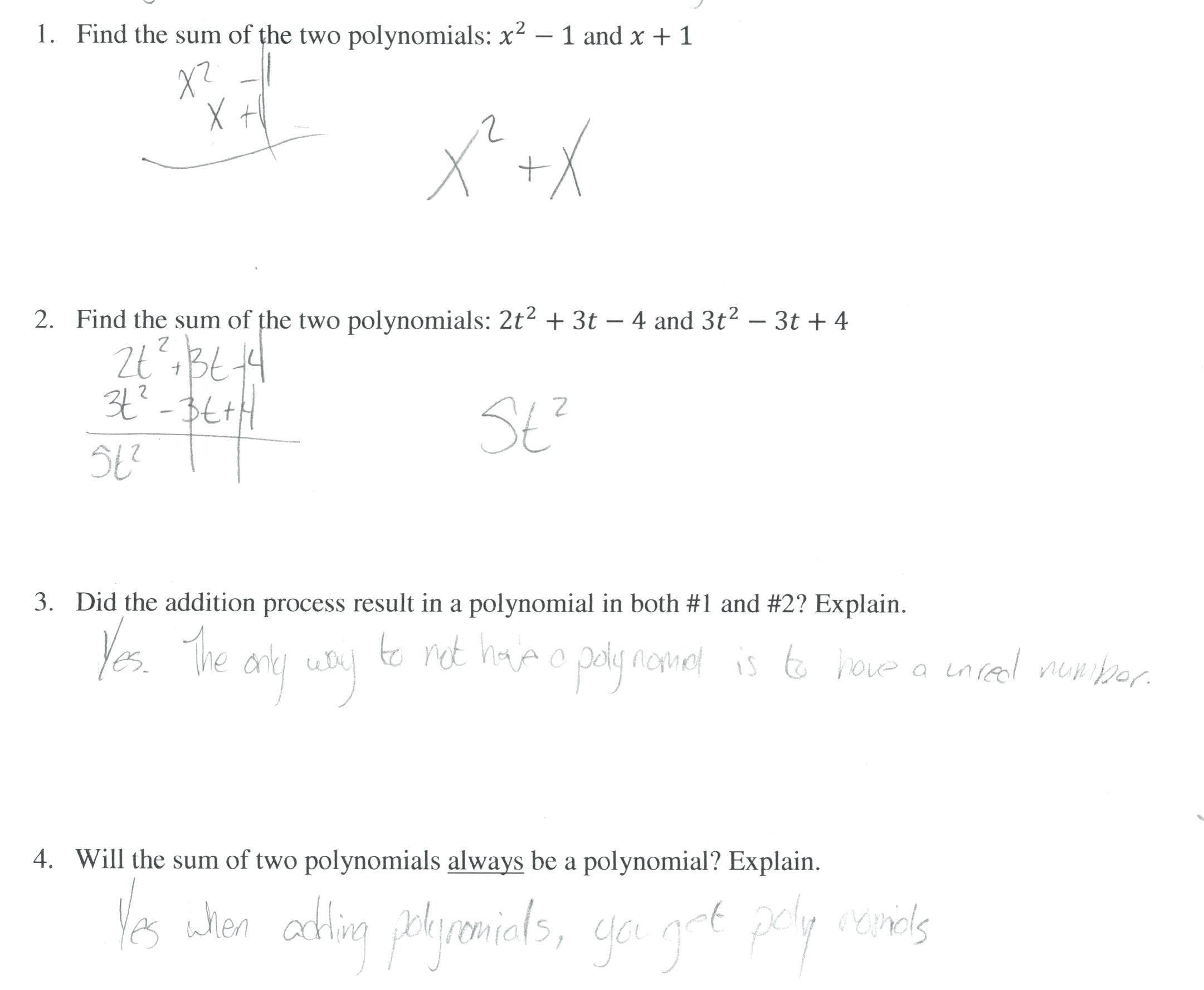 Multiplying and Dividing Monomials Worksheet