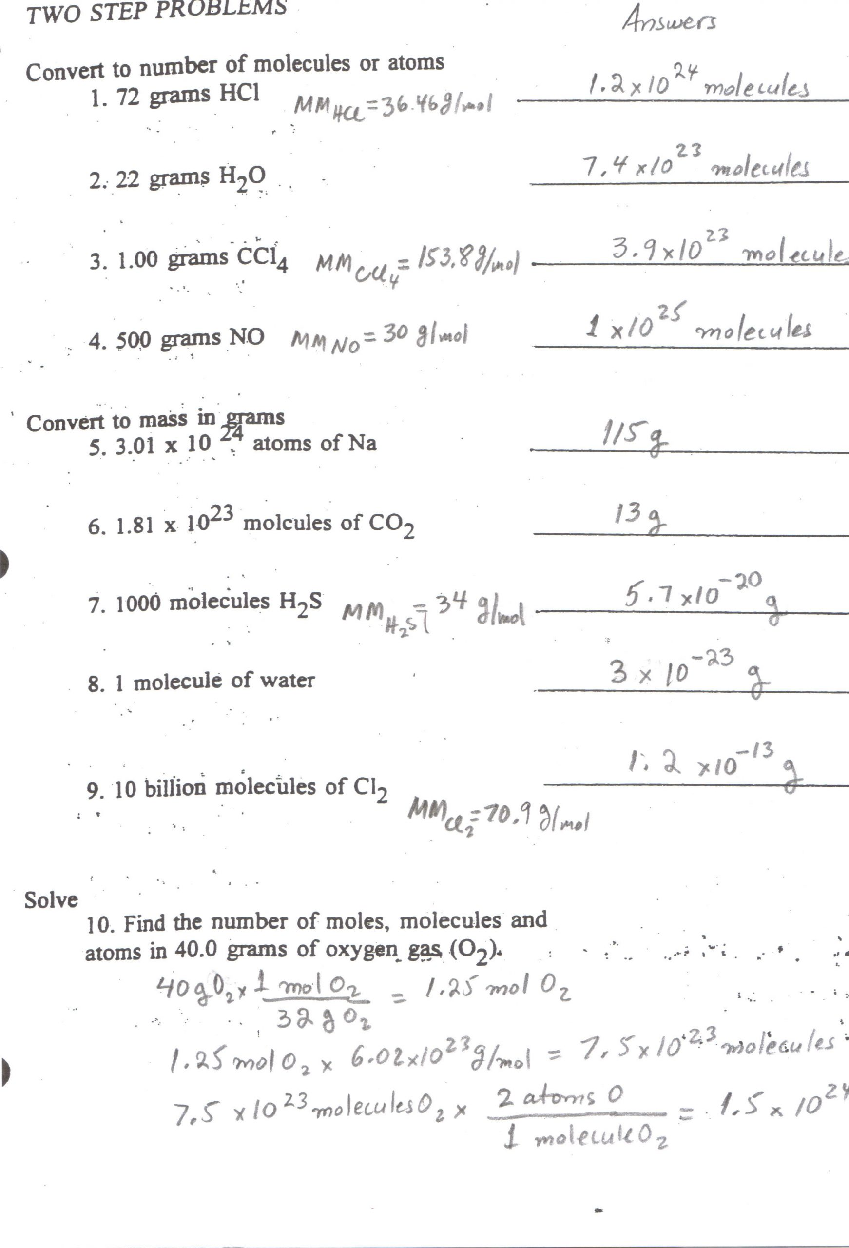 Net Ionic Equations Worksheet