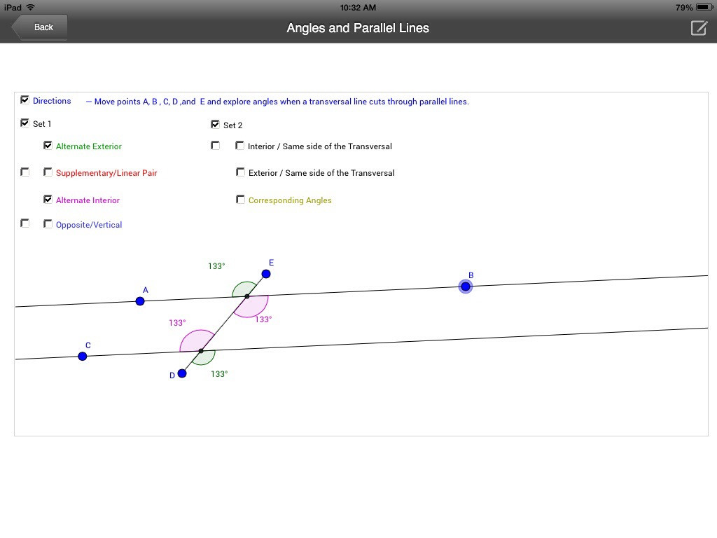 Parallel Lines Transversal Worksheet