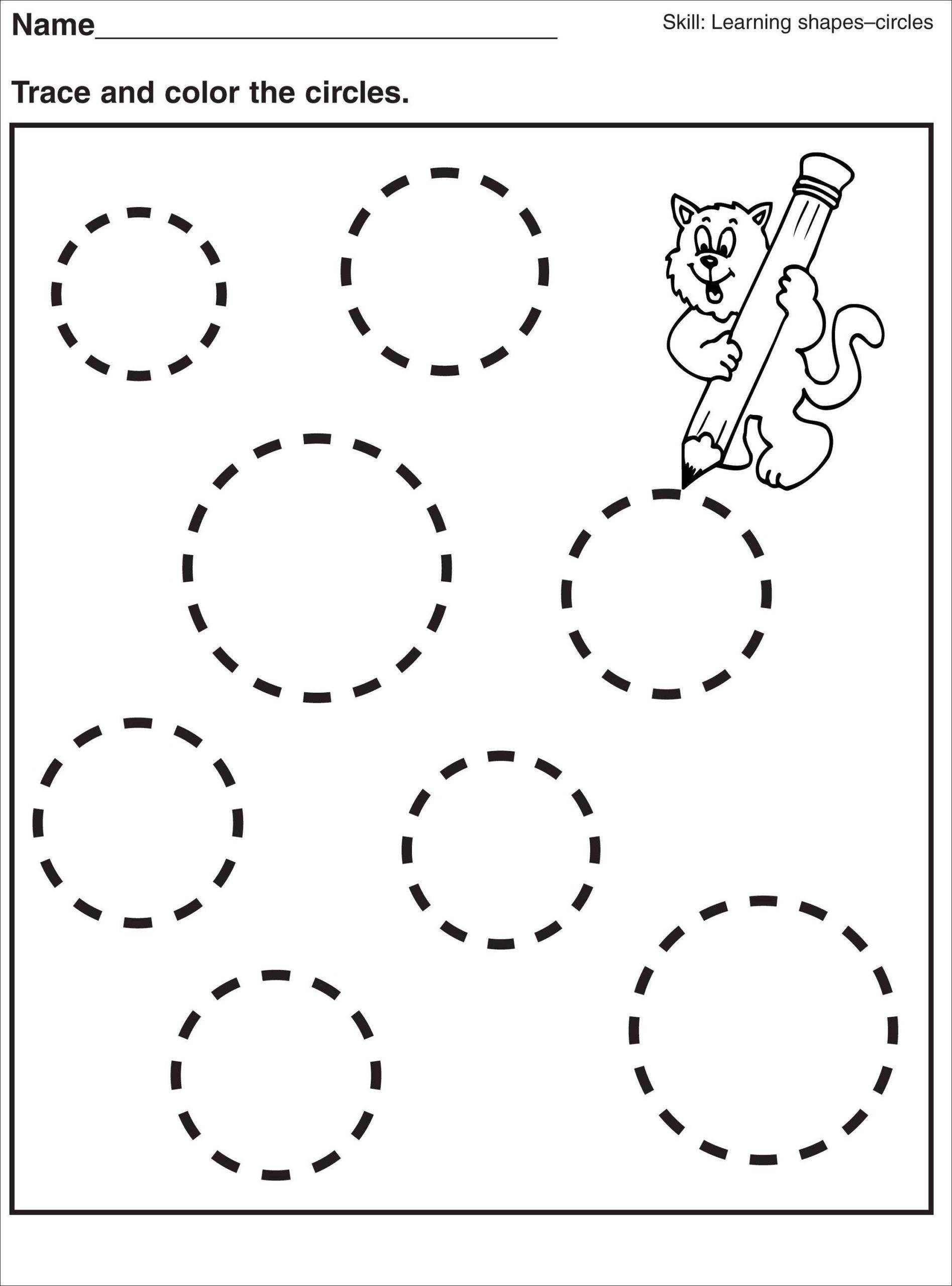 Patterns Worksheet for Kindergarten