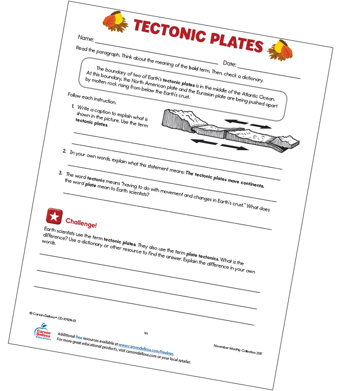 30 Plate Tectonics Worksheet Answer Key   Education Template