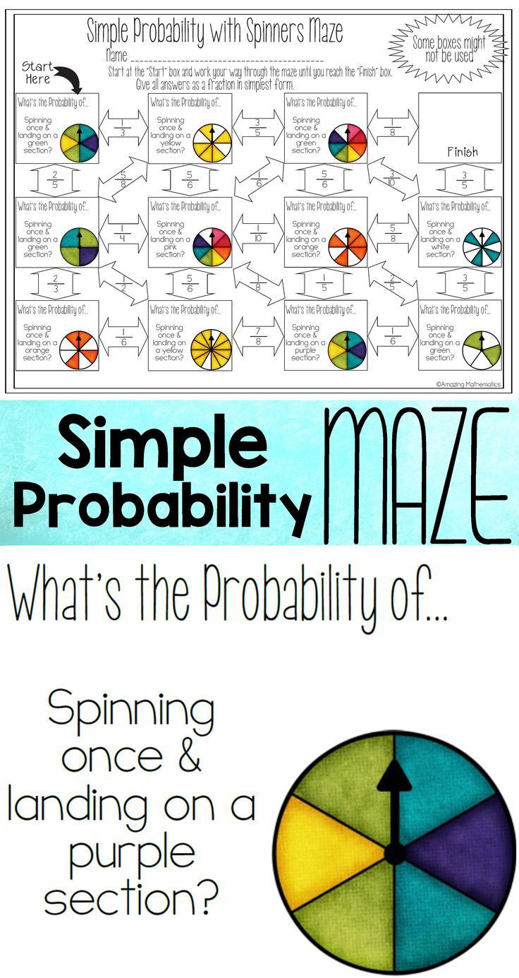 Probability Worksheet with Answers