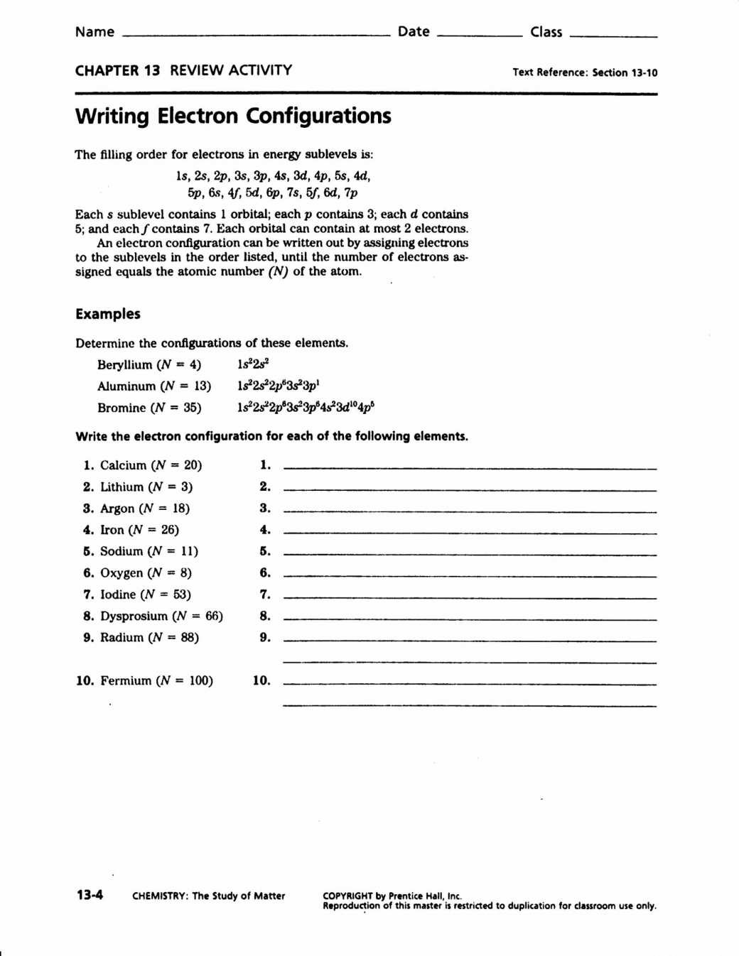 Properties Of Matter Worksheet Answers