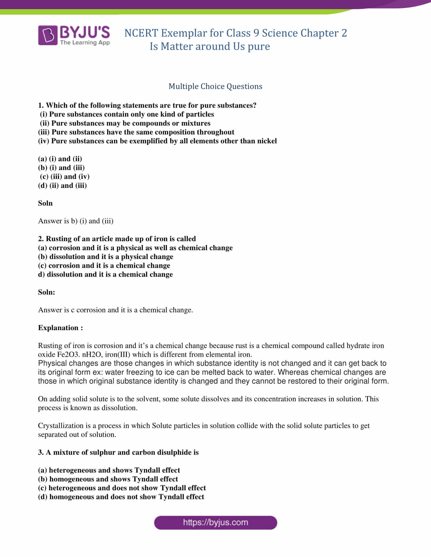 Properties Of Matter Worksheet Pdf