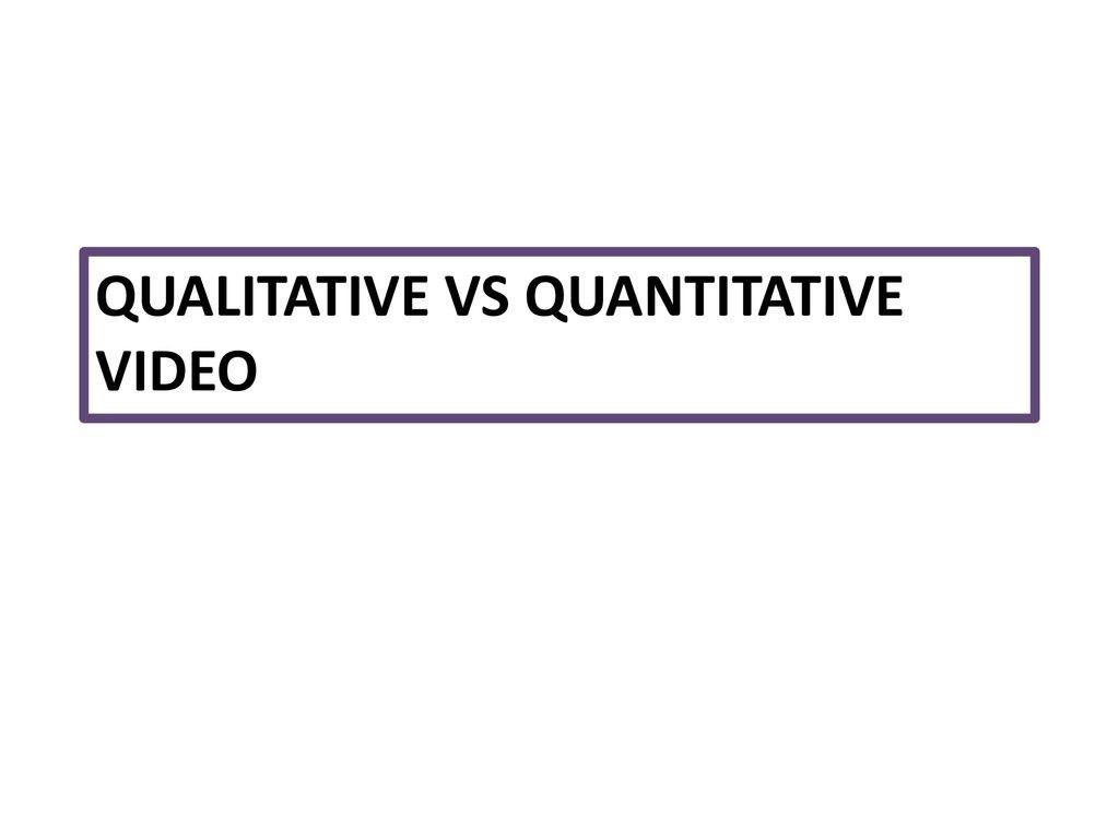 Qualitative Vs Quantitative Worksheet