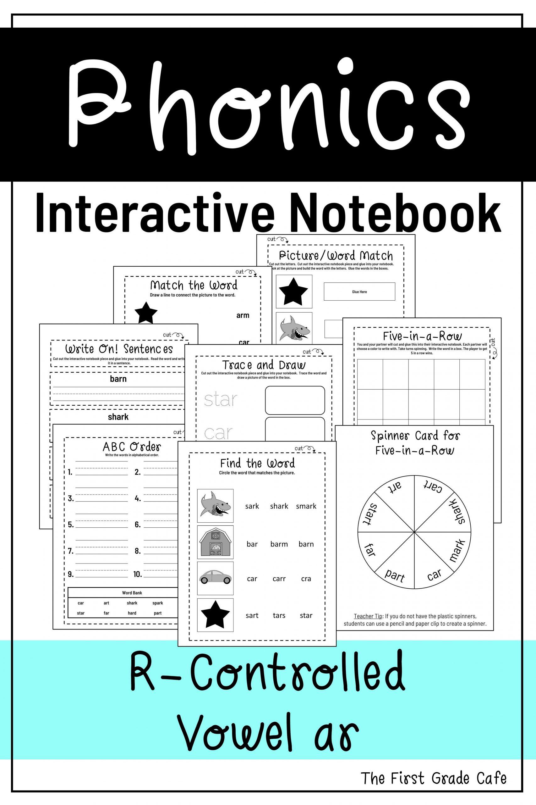 R Controlled Vowels Worksheet