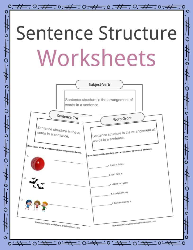 Sentence or Fragment Worksheet