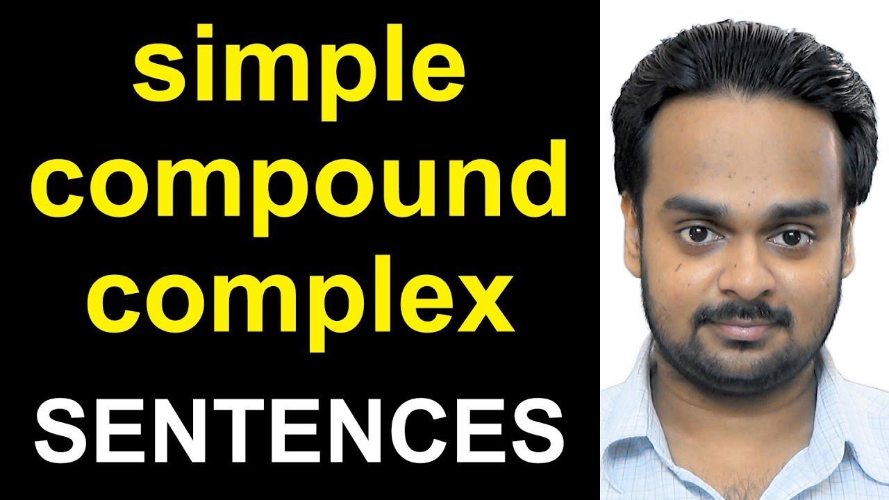 Simple Compound Complex Sentences Worksheet