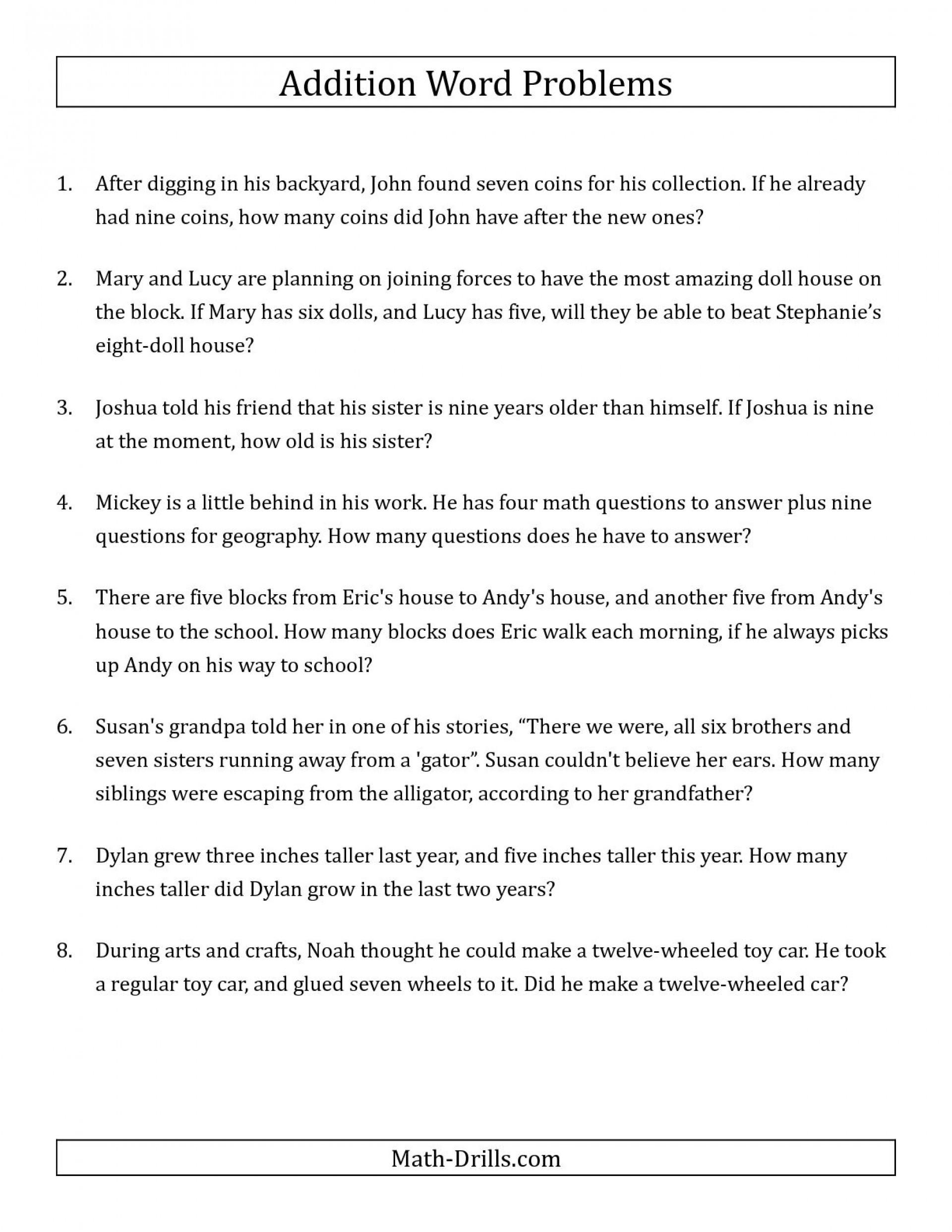 Simple Interest Problems Worksheet