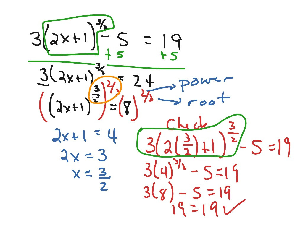 Solve Equations with Fractions Worksheet