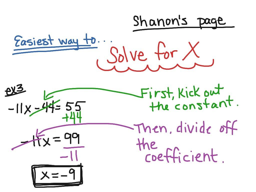 Solve Two Step Equations Worksheet