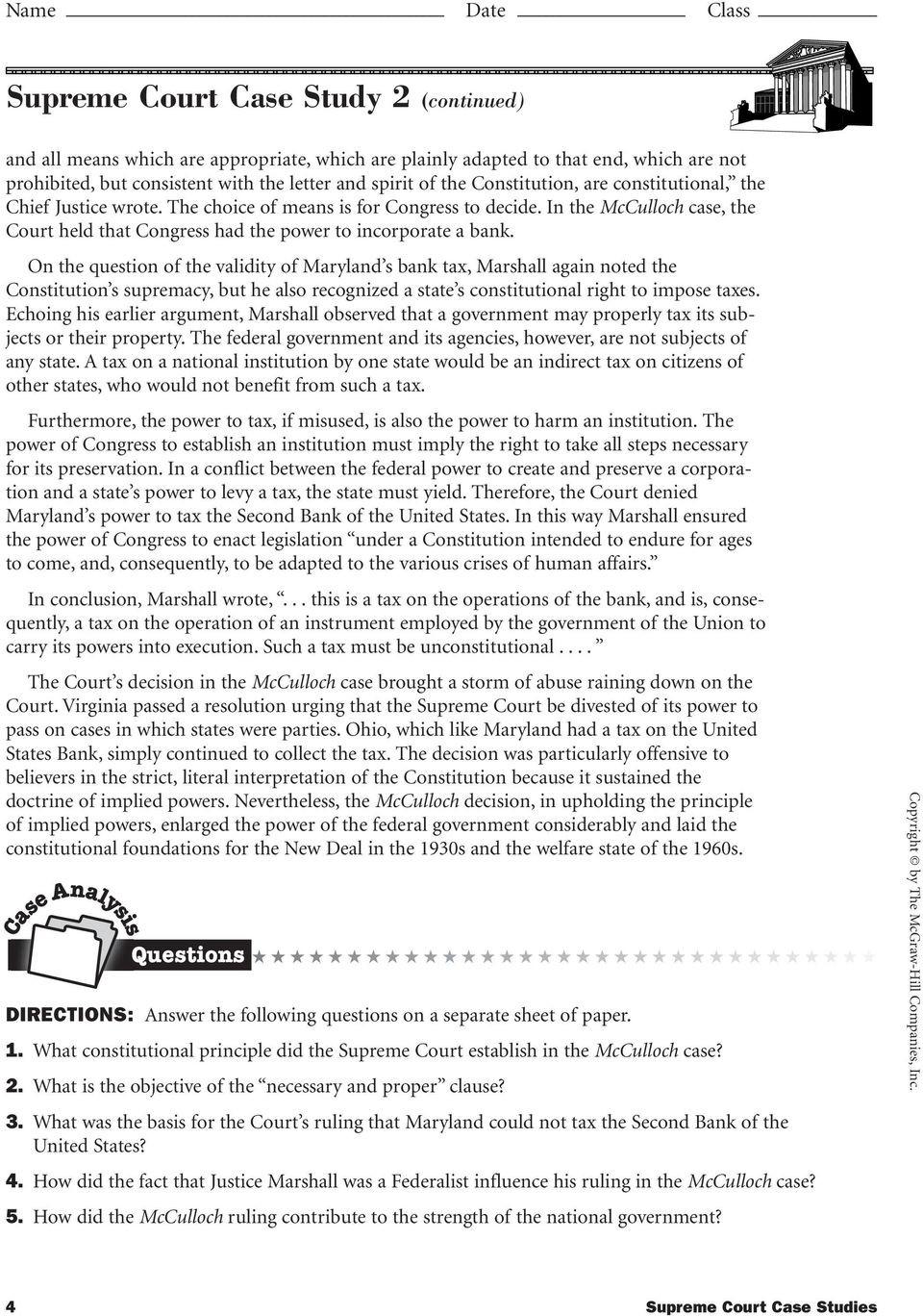 Supreme Court Case Stu s PDF Free Download