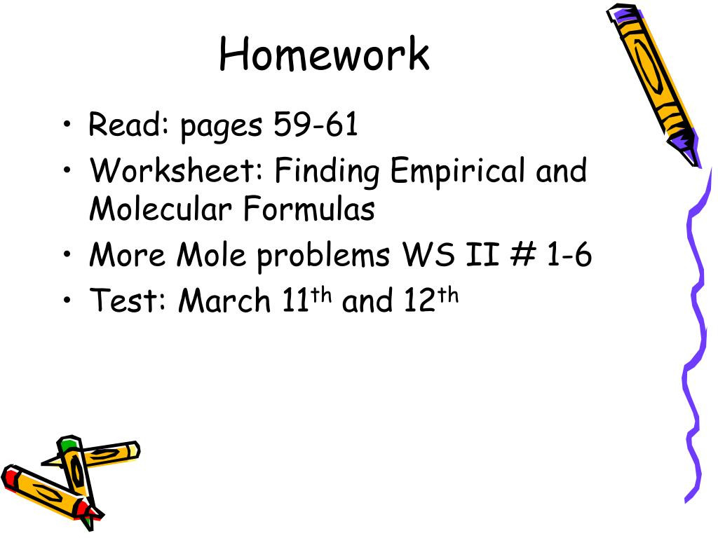 Worksheet Mole Problems Answers