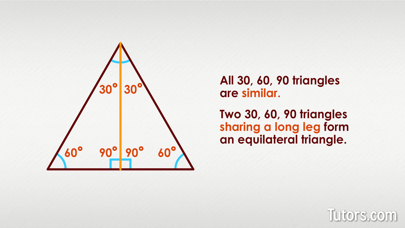 30 60 90 Triangles Worksheet