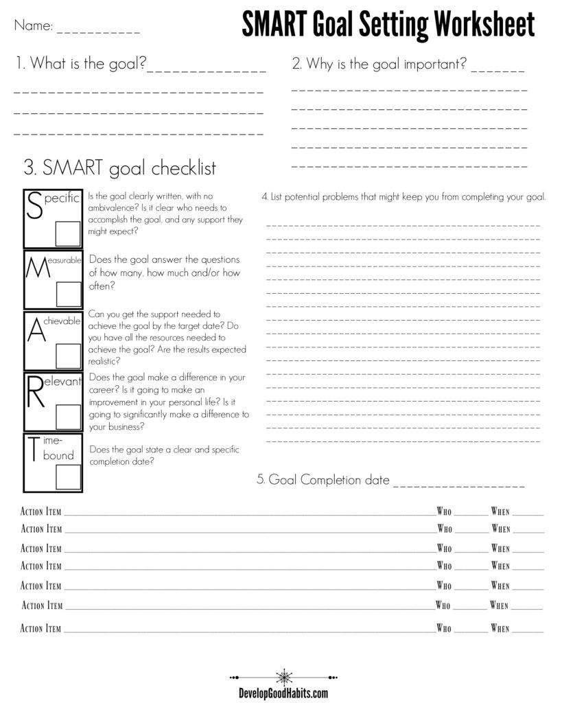 7 Habits Worksheet Pdf