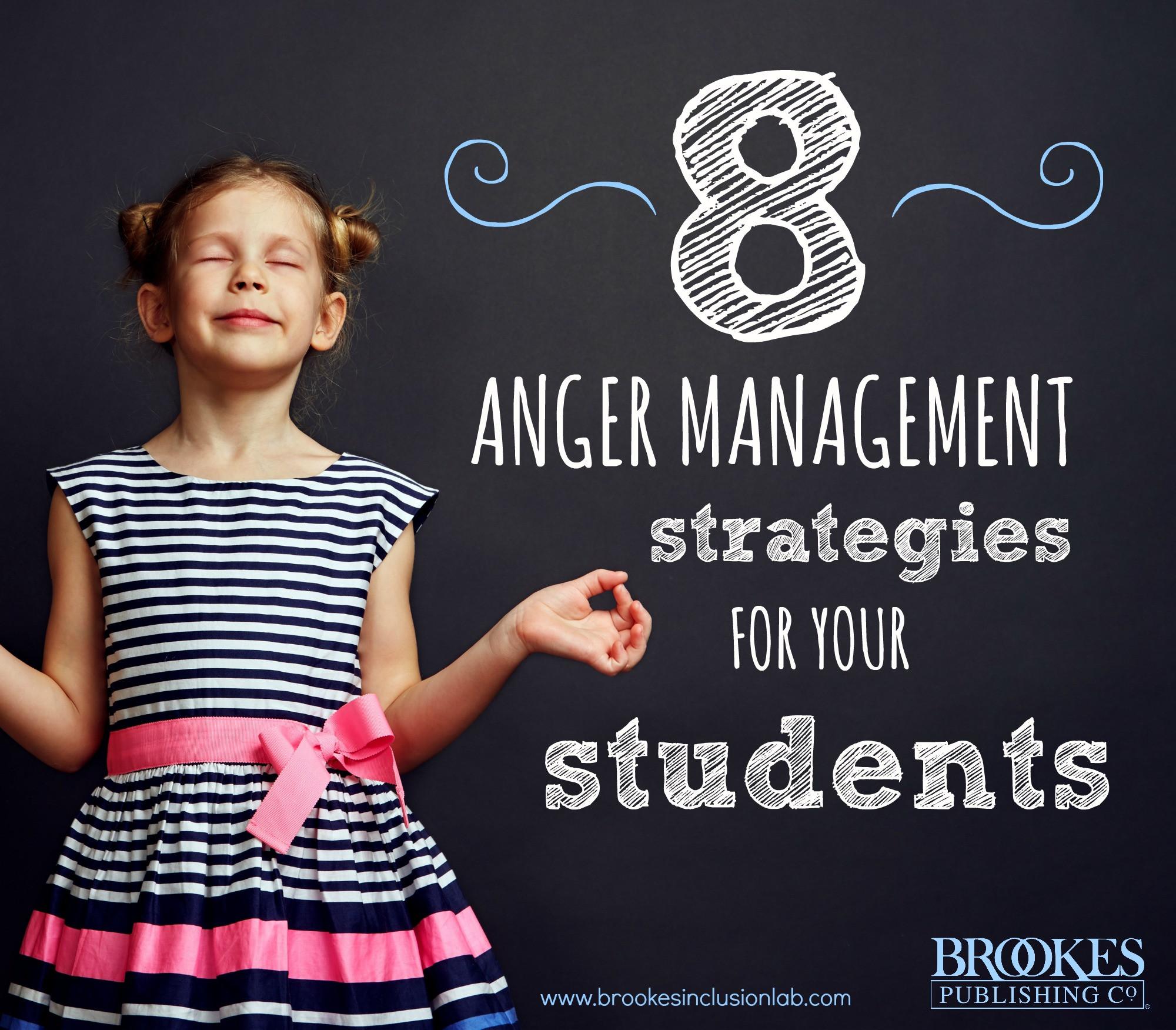 Anger Management Worksheet for Teenagers