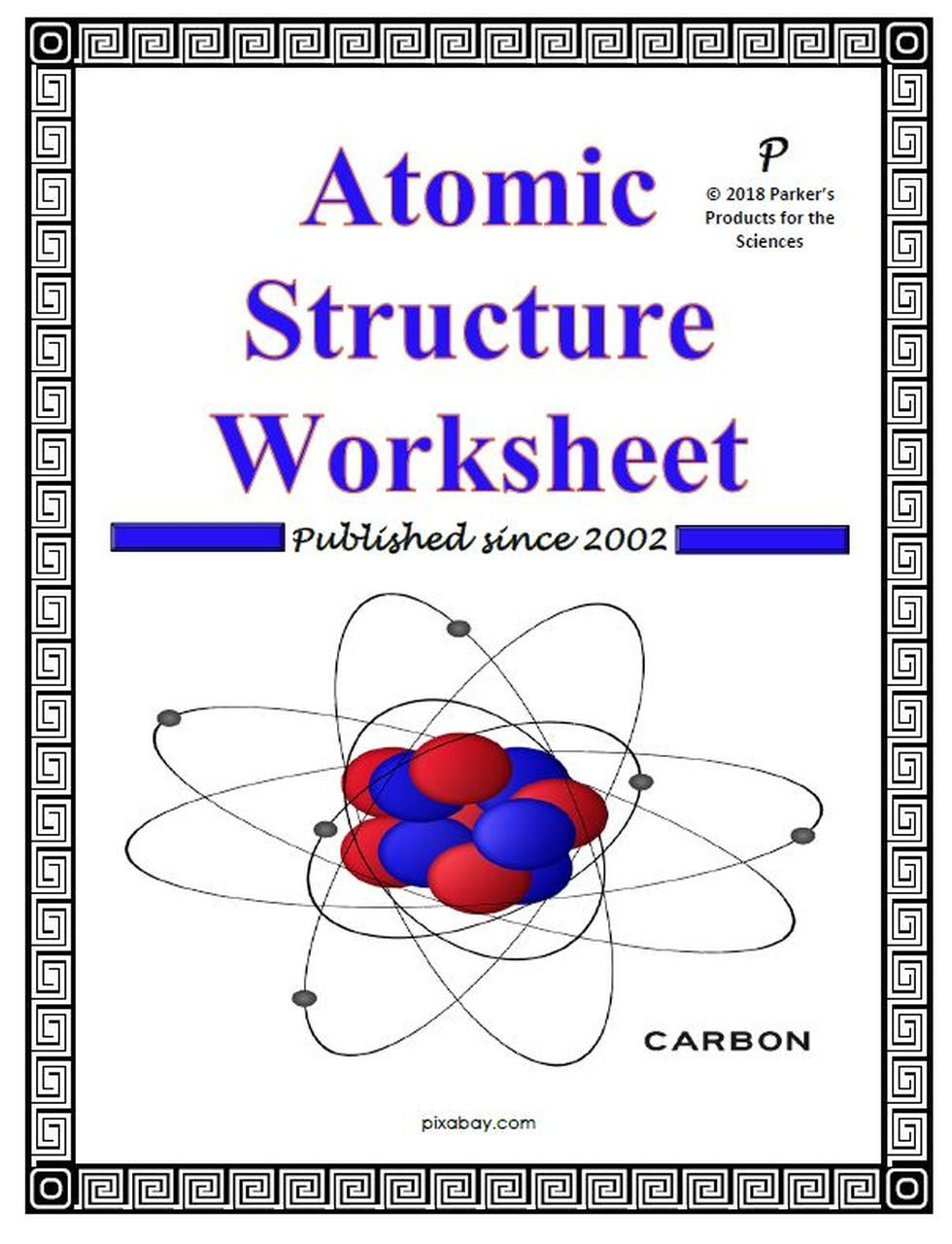 Atomic Structure Worksheet Answers Key