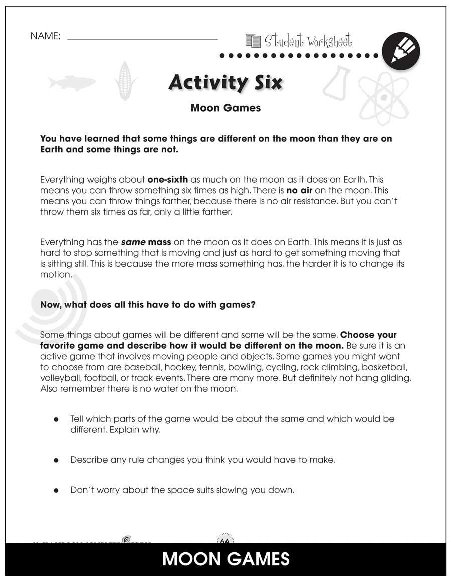 Changes In Matter Worksheet