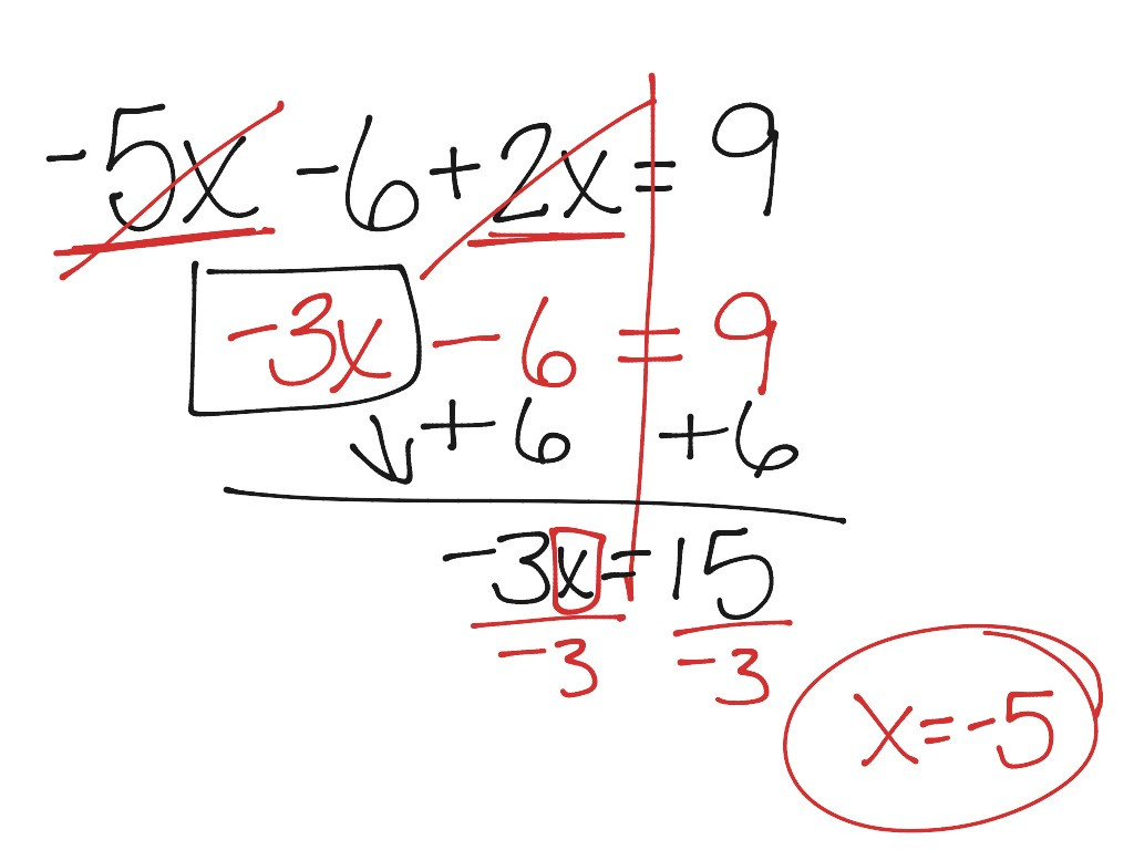 Combining Like Terms Worksheet Answers
