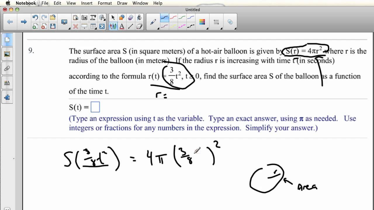 Composite Function Worksheet Answers