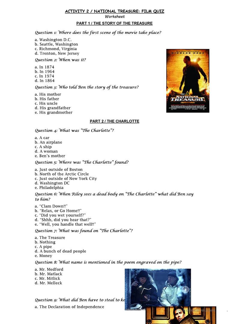 Declaration Of Independence Worksheet Answers