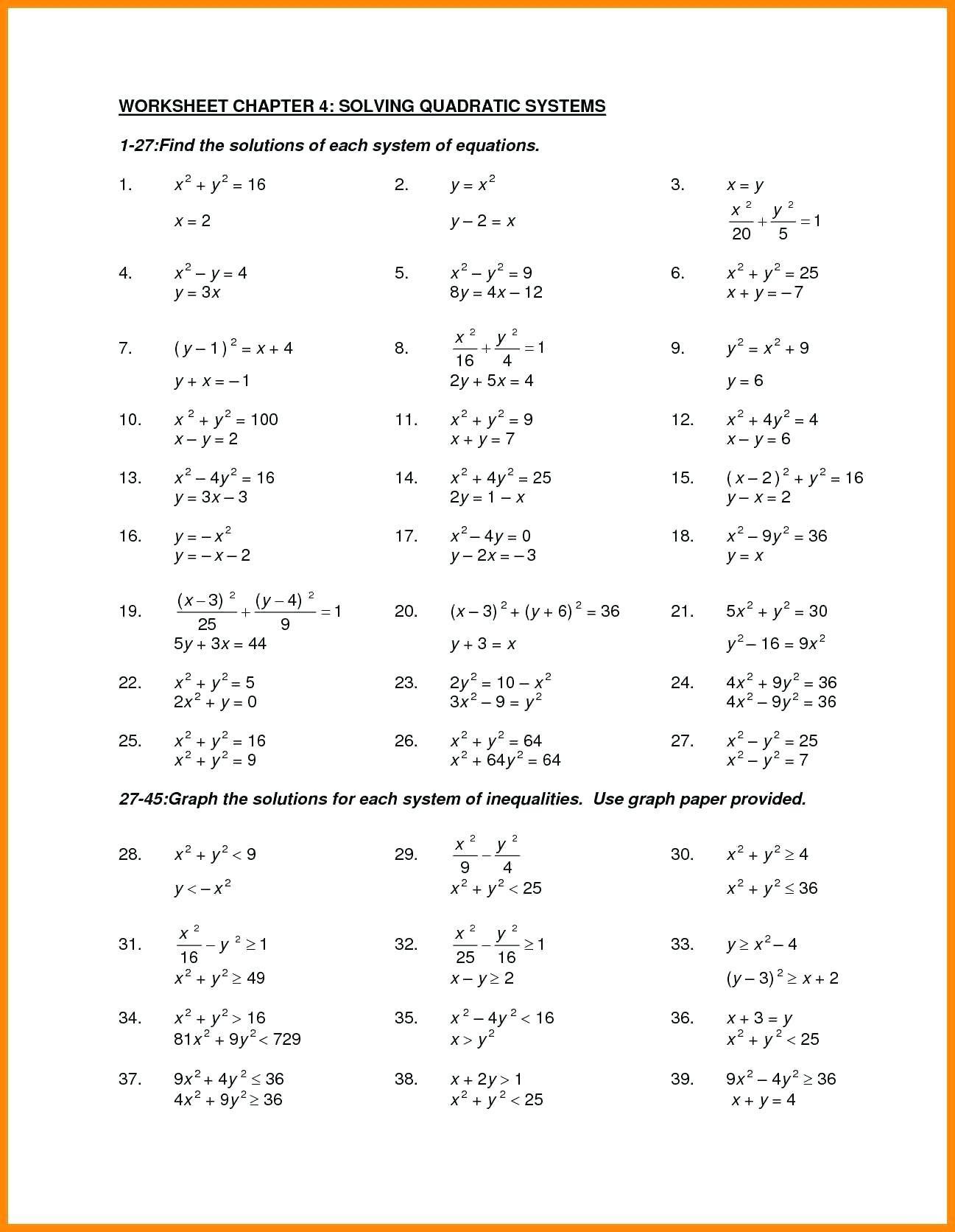 Factoring Trinomials A 1 Worksheet
