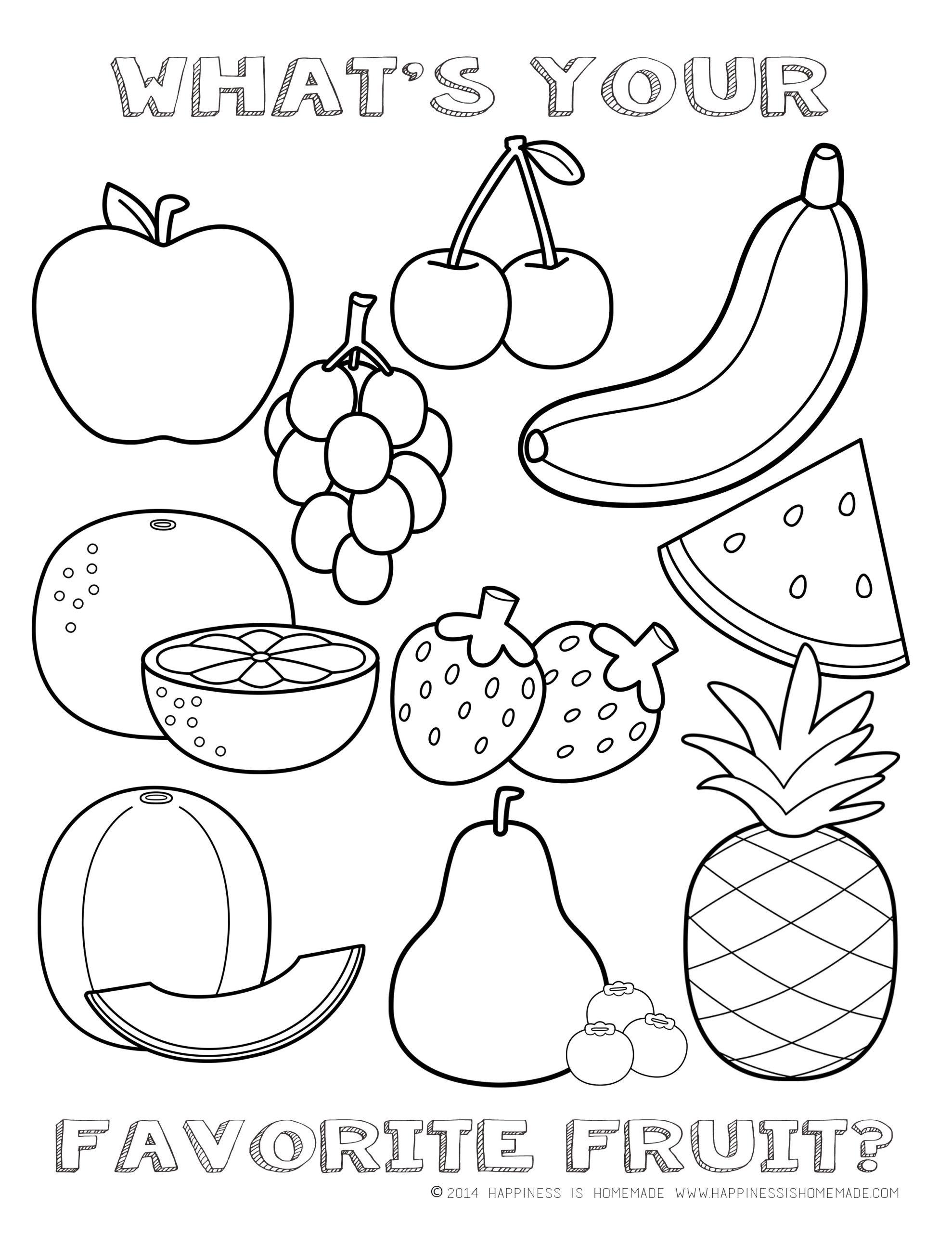 Fruits Of the Spirit Worksheet