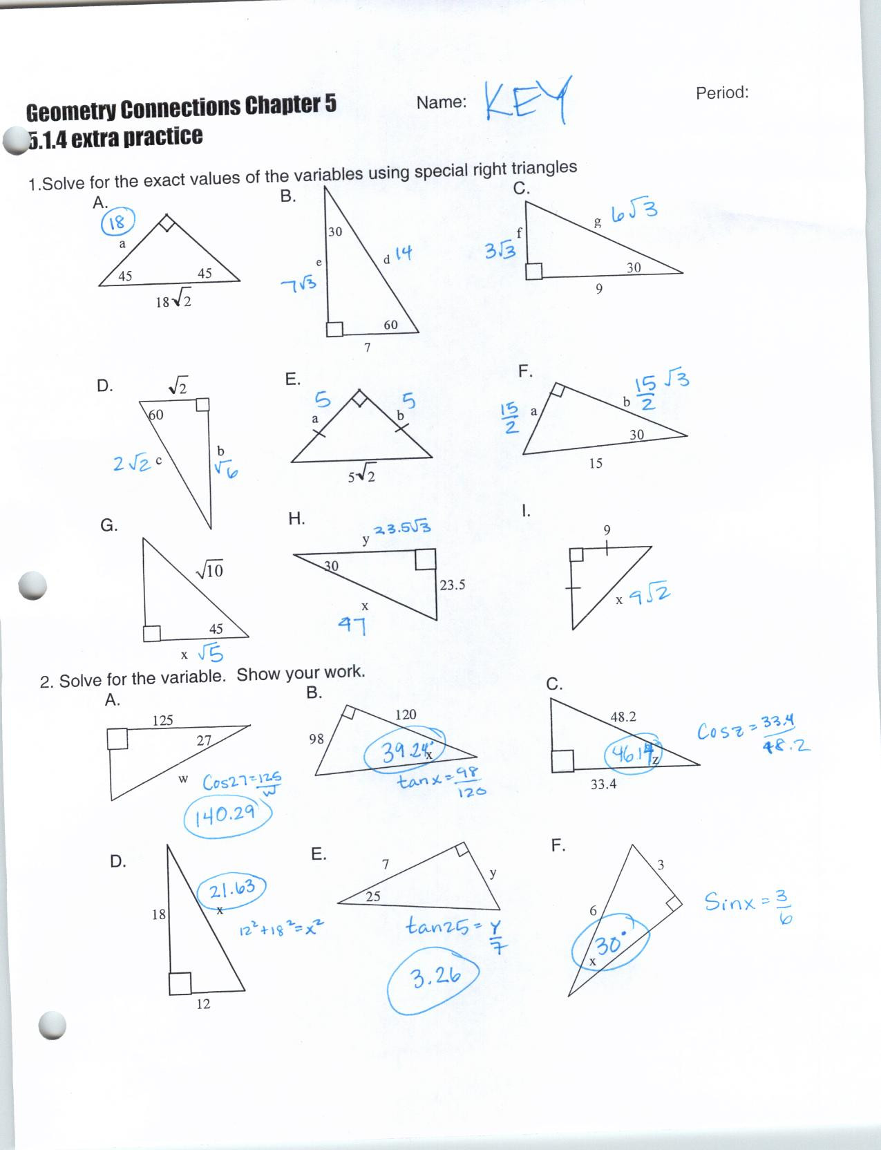 Geometry Worksheet Beginning Proofs