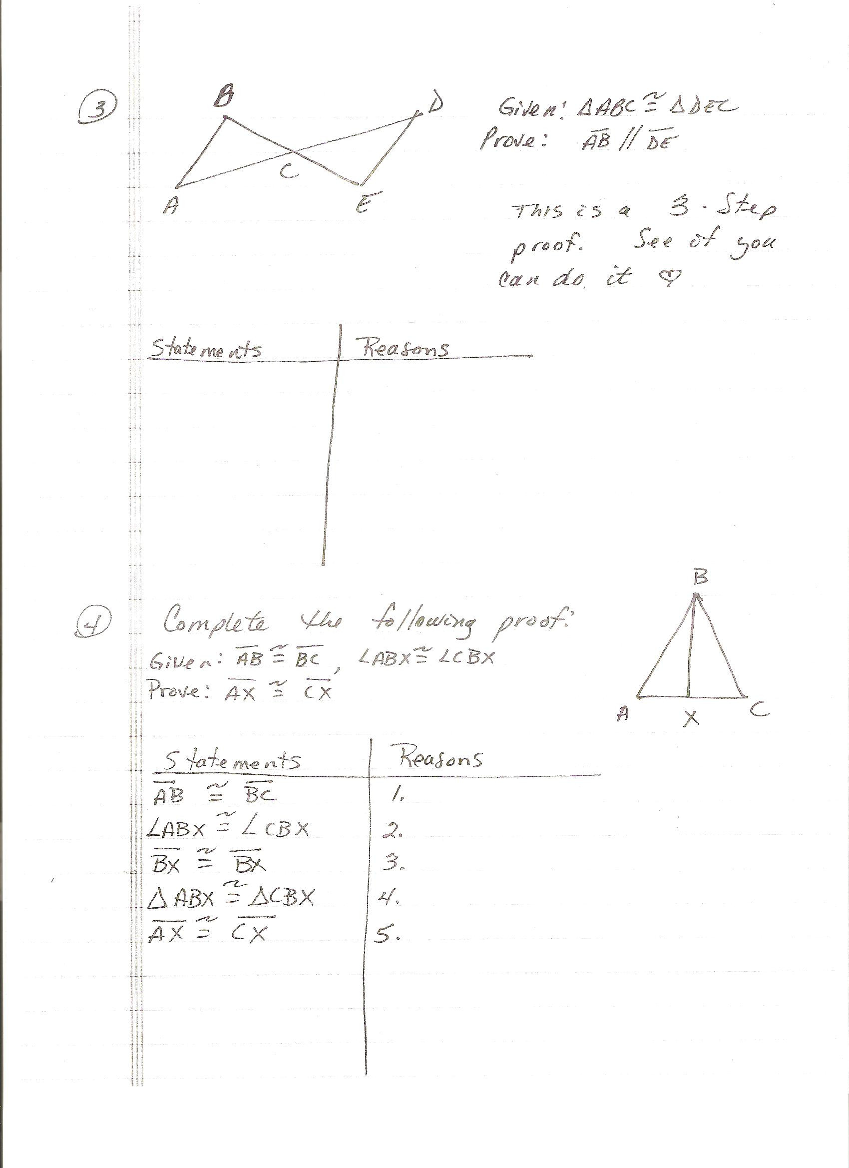 Beginning Geometry Worksheets