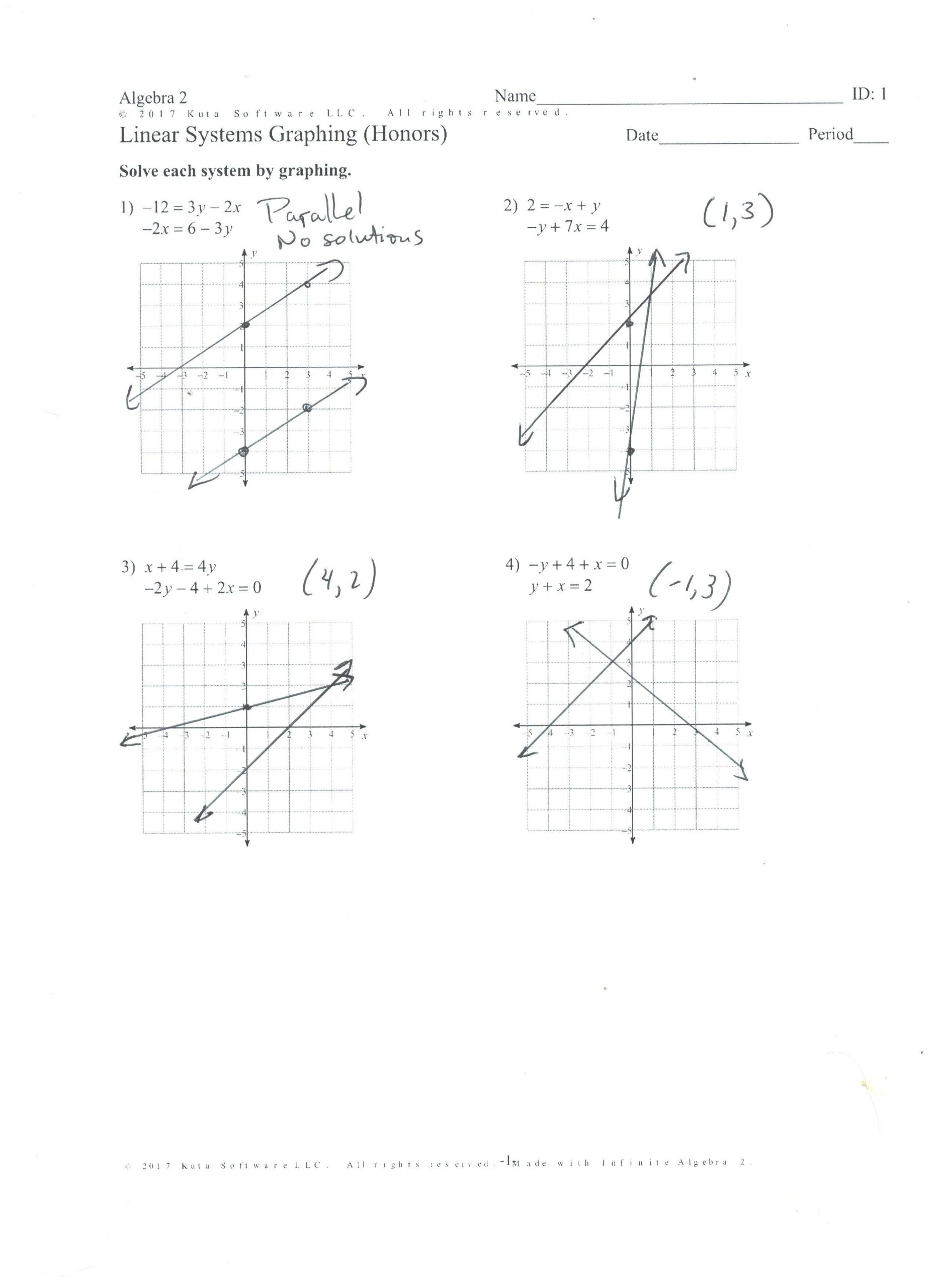 30 Graphing Linear Inequalities Worksheet Answers ...