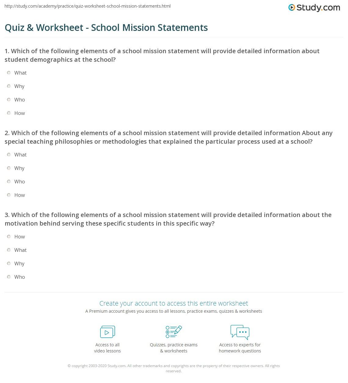 I Feel Statements Worksheet