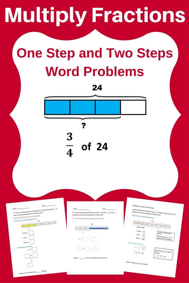 Fractions Worksheets 4th Grade 5th Grade Multiplying